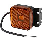 Boční označovací světlo LED s úhlem a kabelem 24V pro MAN