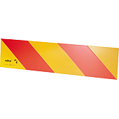 Výstražné označení ECE 70 pro tahače, na hliníkové ceduli