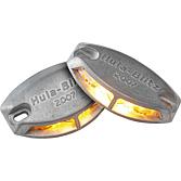 Zábleskové výstražné světlo s 2 LED diodami