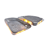 Zábleskové výstražné světlo mini se 4 LED diodami