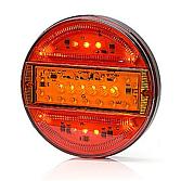 LED tří-komorové zadní světlo 12/24V