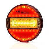 LED pěti-komorové kulaté světlo 12/24V