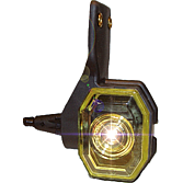 Obrysové LED světlo s 90° výkyvným držákem