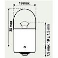 Žárovka zadního světla 12V