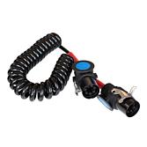 EBS spirálový kabel, 7pólový