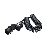 Spirálový kabel, 15pólový