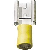 Plochý konektor žlutý
