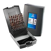 Kazeta se spirálovými vrtáky HSS-O Stratus 1,0-10,0mm
