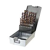 Kazeta se spirálovými vrtáky HSS-O Stratus 1,0-13,0mm