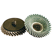 Miniaturní vějířové brusné kotouče Flexloc