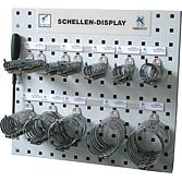 Panel hadicových spon