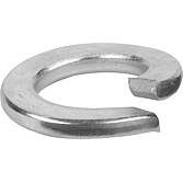 Pružné kroužky pozinkované DIN 127