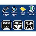 Dílenská svítilna LED UL200