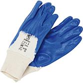 Nitrilové ochranné rukavice, modré