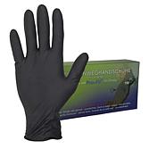 """Jednorázové rukavice """"nitril"""" černé"""