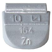 Rázová závaží zinek pro ocelové ráfky typ 164